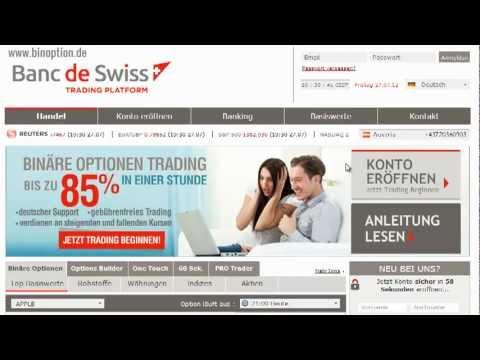pubblicità opzioni binari credit swiss