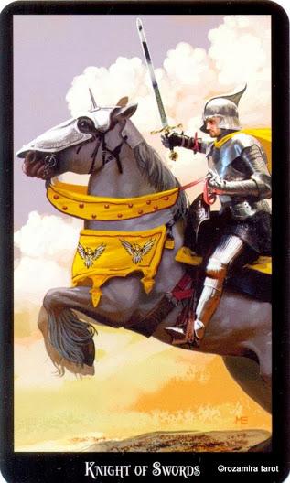 Рыцарь Мечей Таро - ArsMagicaorg