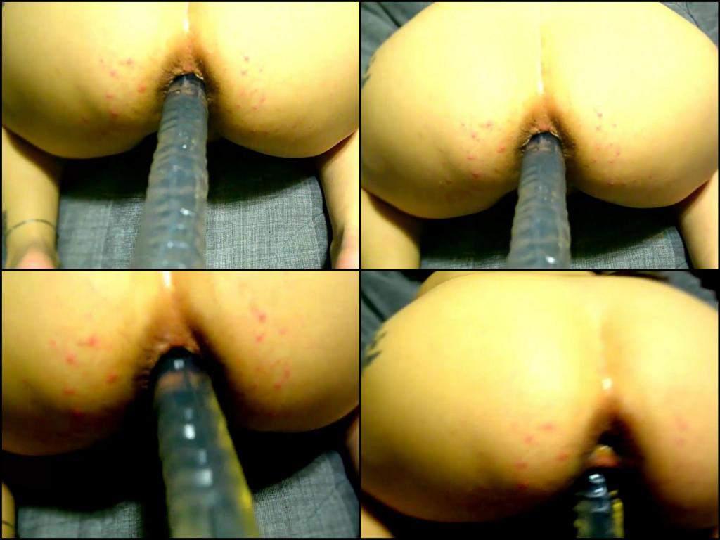 Huge boobs molested anime