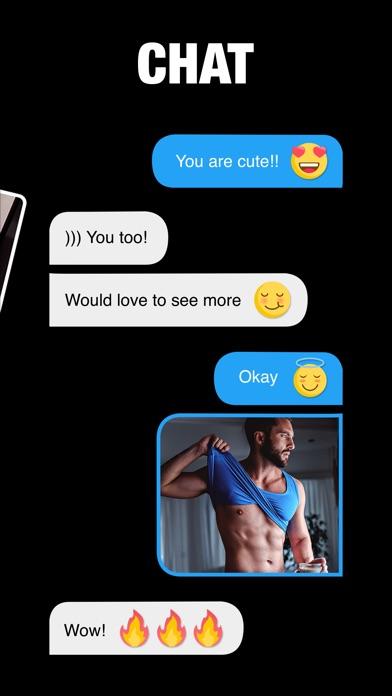 Gay dating app real life