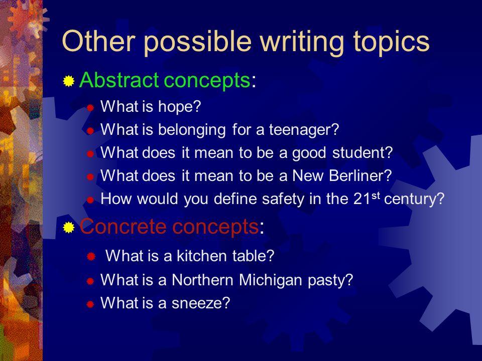 American studies research paper topics