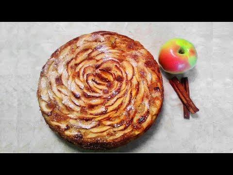 Шарлотка с яблоками рецепт приготовления быстро