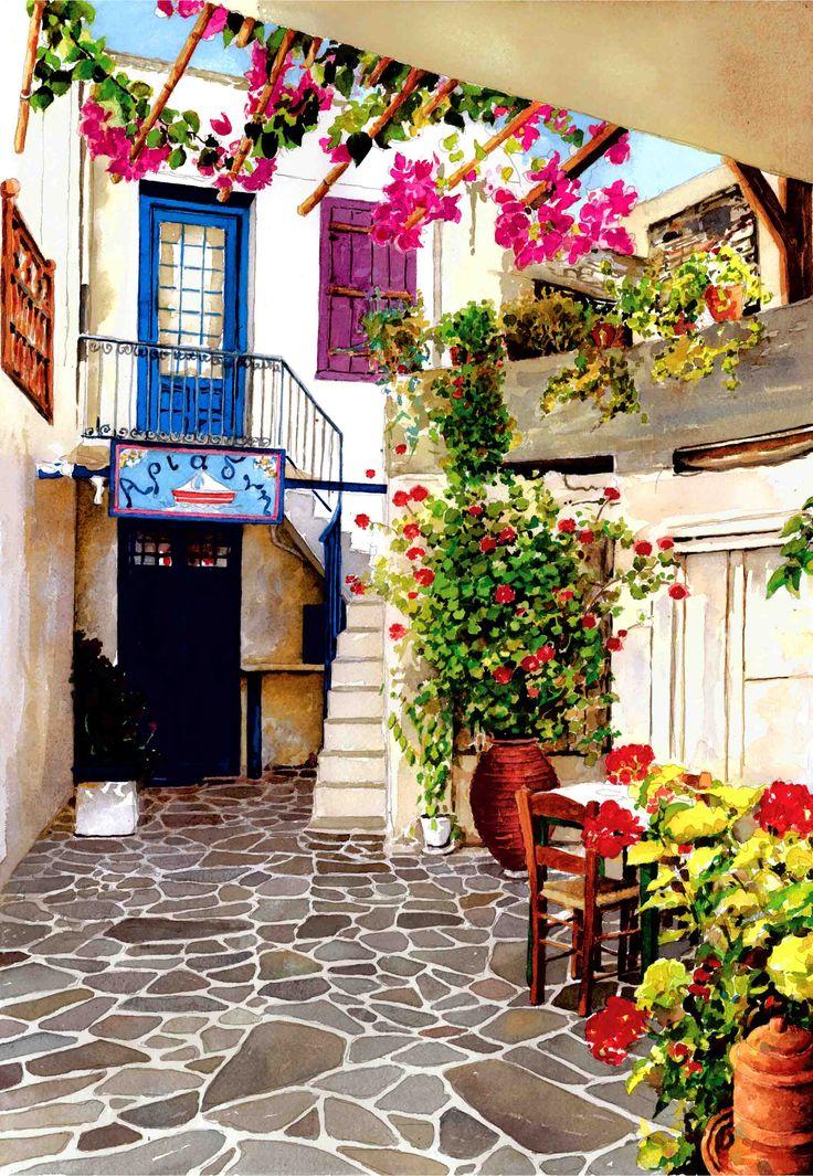 Недвижимость сельской местности Миконос