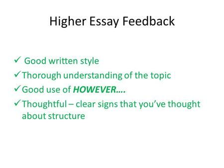 What is a good topic for an exemplification essay