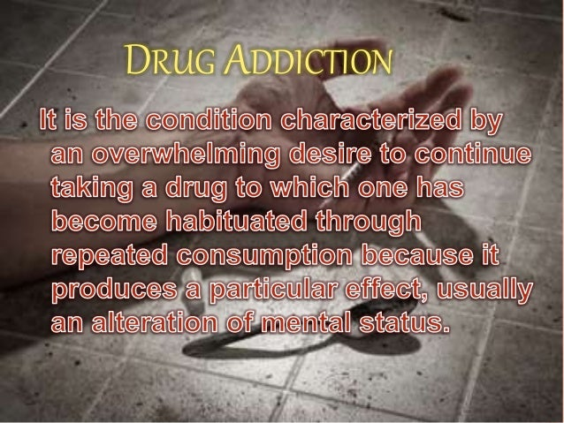 Short Paragraph on Drug Addiction - EdgeArticles