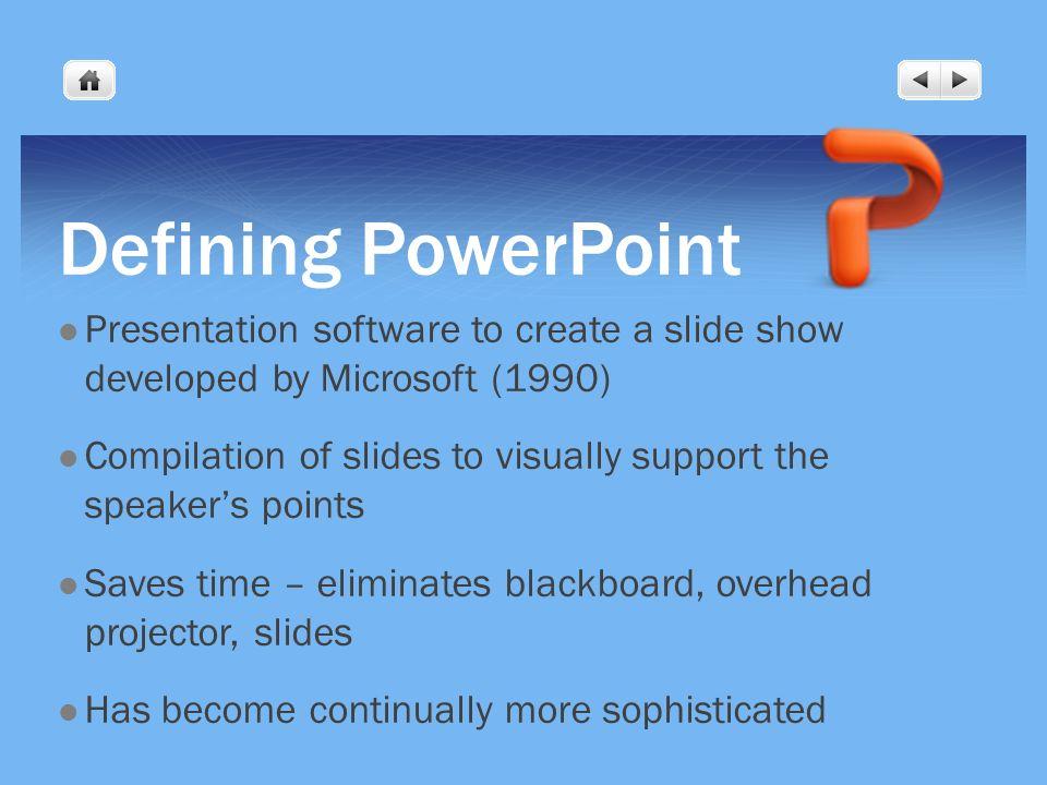 Powerpoint presentation software