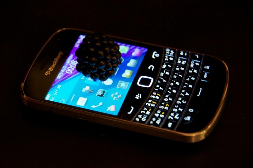 Istruzione blackberry