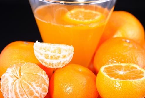 Быстрая диета на апельсинах