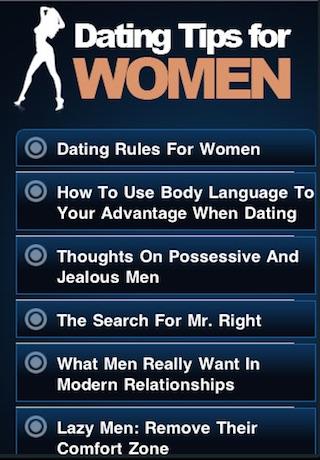Dating tips app