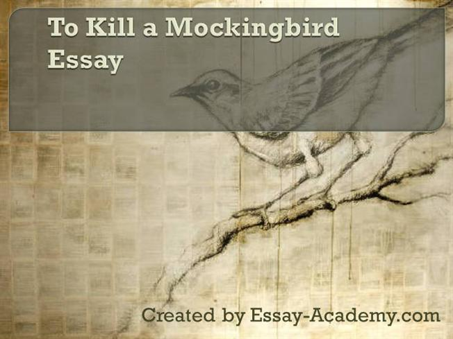 Free to kill a mockingbird essays