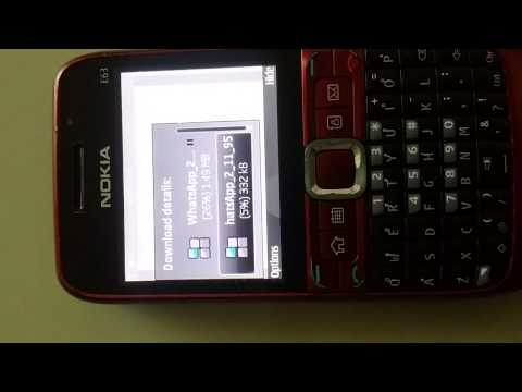 Download and Install Whatsapp for all Java and Nokia