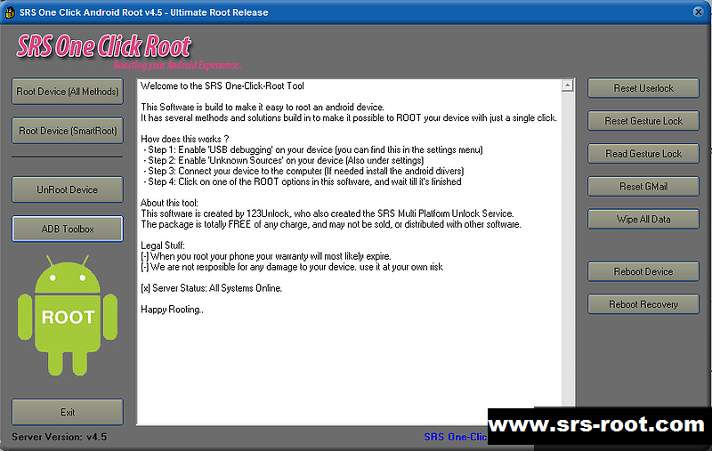 Download Super Root Android - free - latest version