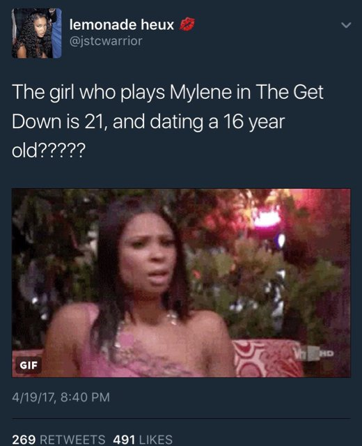 The game dating 17 year old
