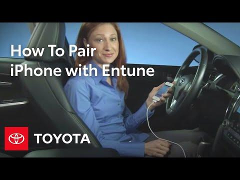 Entune Premium Audio with Navigation and App Suite