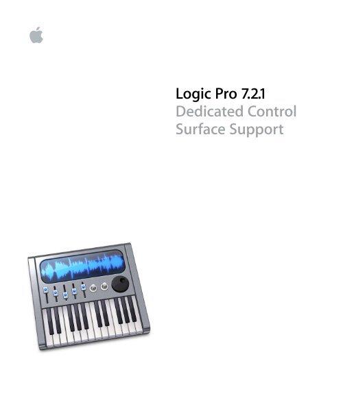 Apple logic user manual