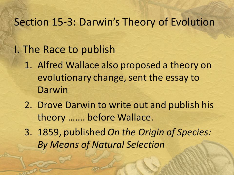 Write my darwin essay contest