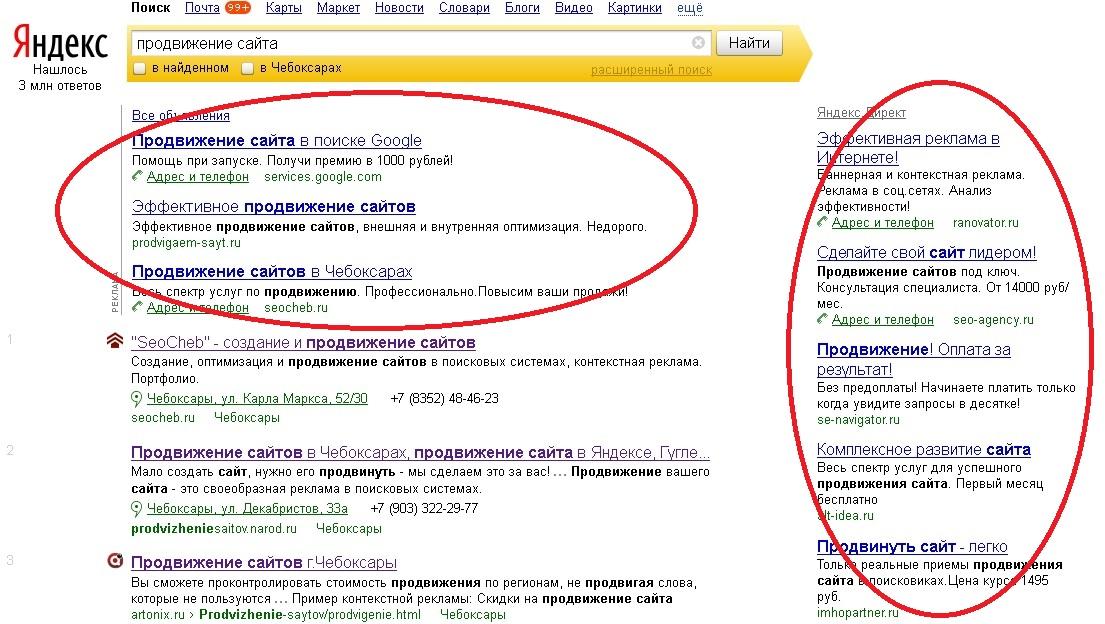 Контекстная реклама и поисковая реклама