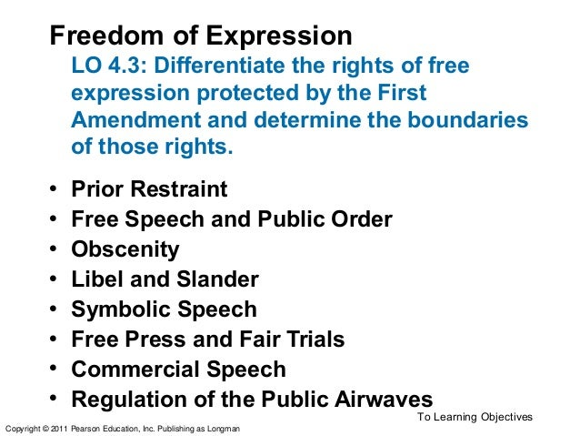 Thesis Statement - Freedom Of Speech - Essays