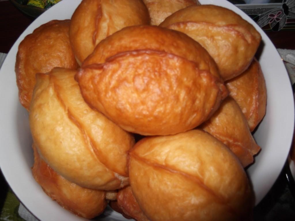 Рецепт быстрого приготовления пирожков жареных с
