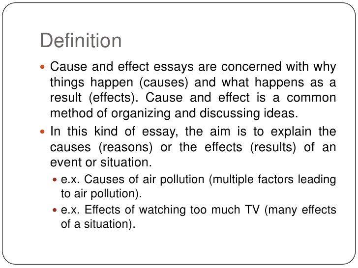 Buy Examples Of Causal Essays  Science And Society Essay also Writting Service  Corruption Essay In English