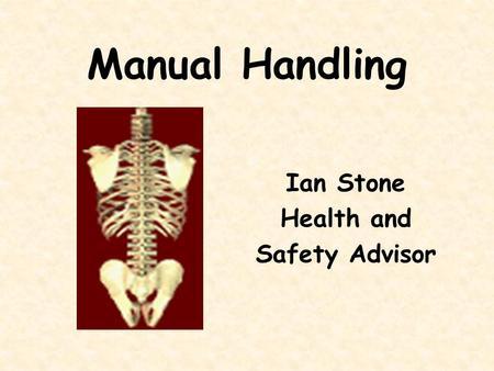 Free Online Manual Handling Training 2018