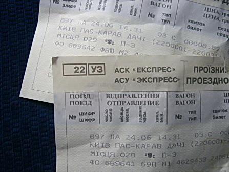 билеты на поезд киев москва киев
