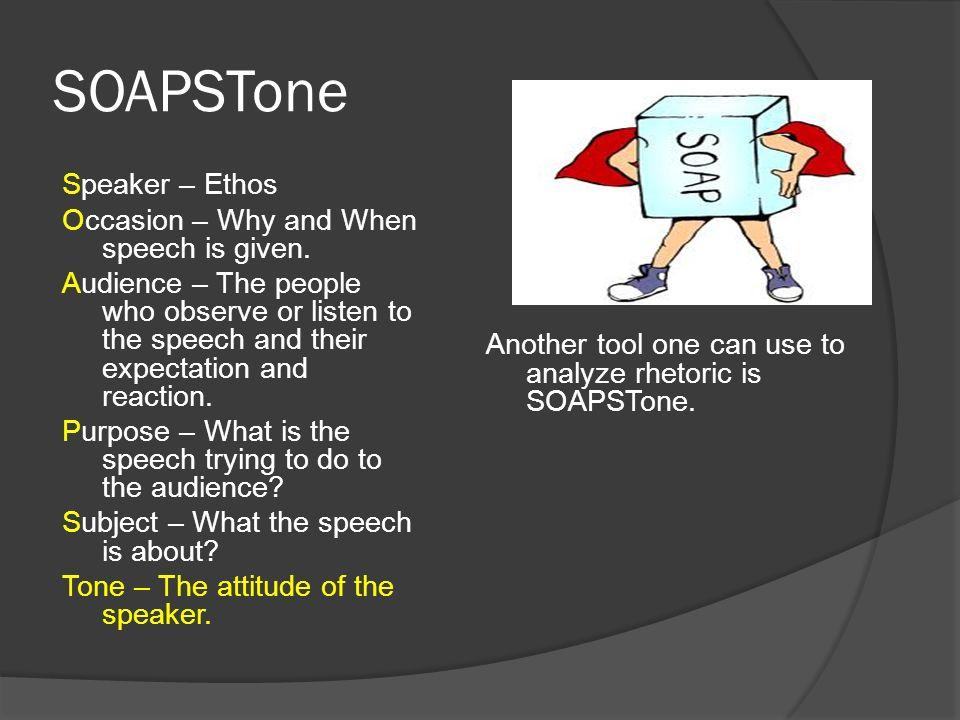 Speech analysis essay