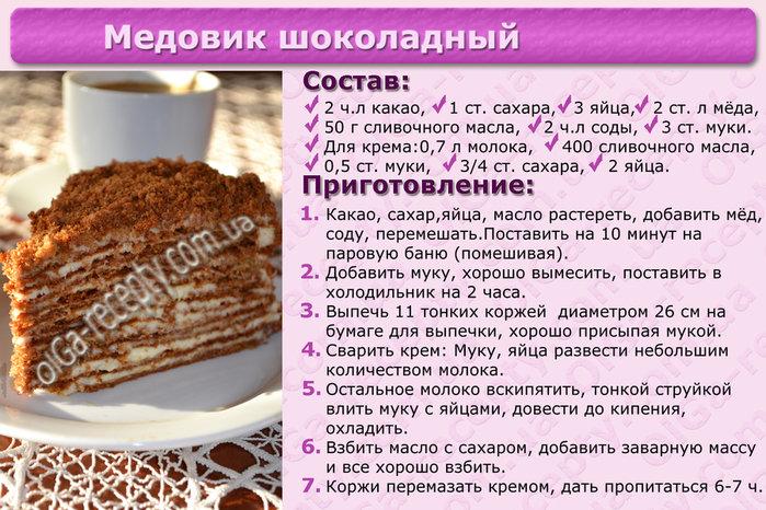 Торт быстрый рецепт с фотографиями
