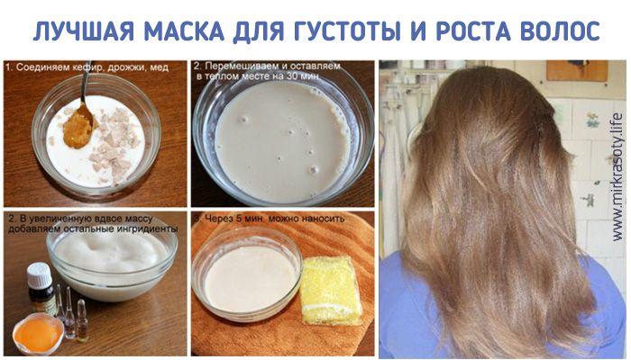 Рецепт к быстрому росту волос