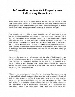 New york loan to value