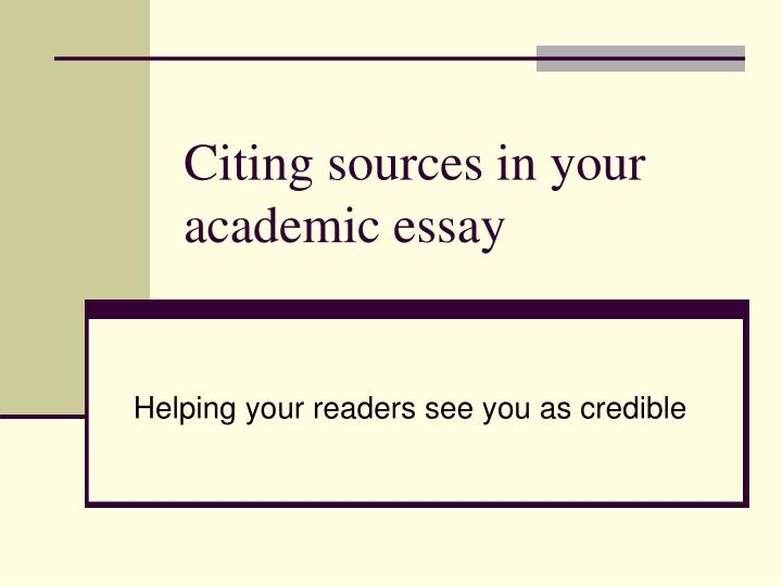 Citing essays - creative writing phd unsw