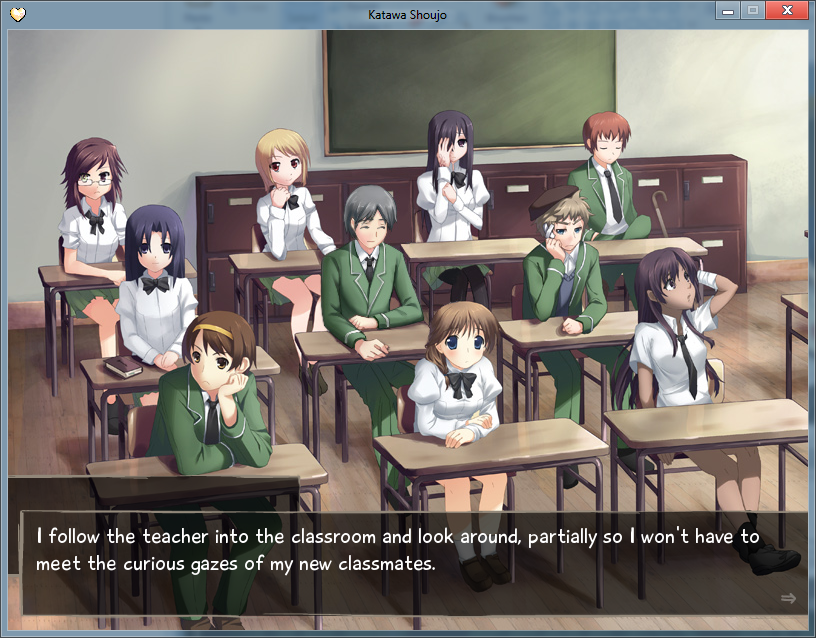 Dating simulator eroge