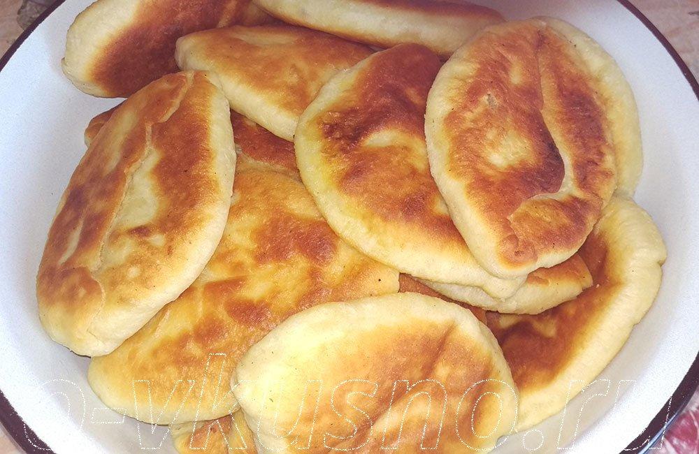 Пирожки жареные молоке рецепт фото