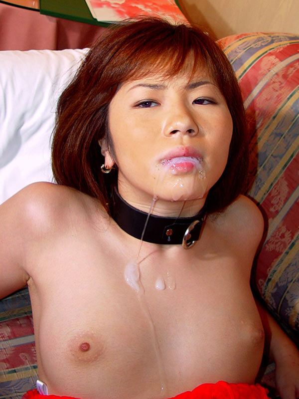 Bukkake japanese cum play