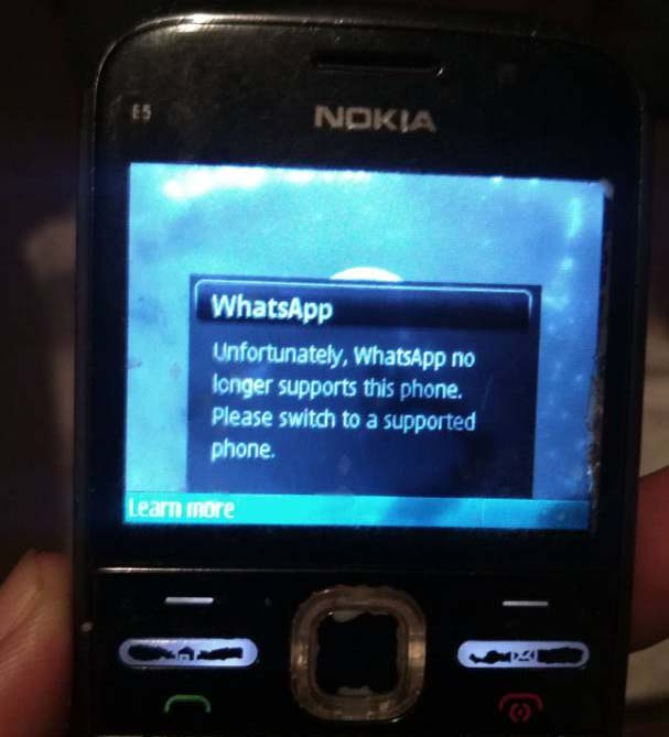 Whatsapp for Nokia E5 ܍ Download