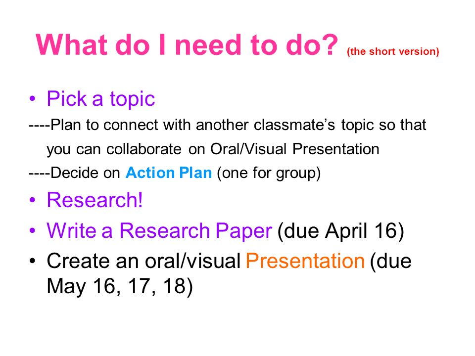 Research Paper Format - Tips and Details - Explorable