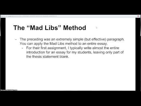 Write my thesis topics