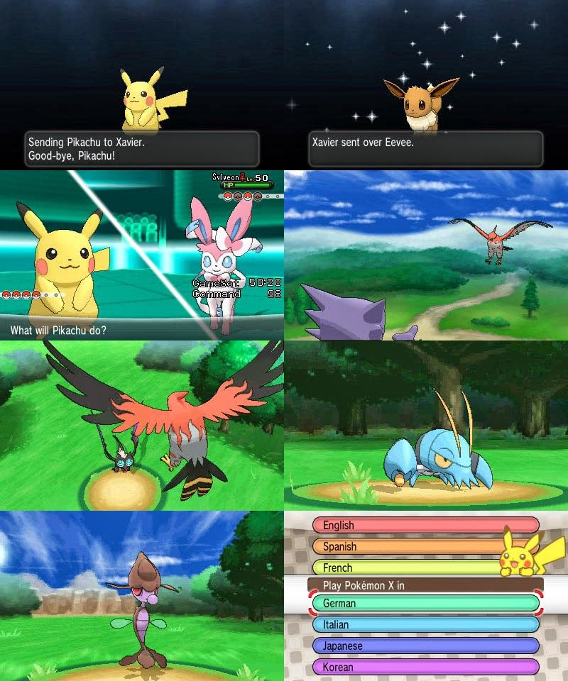 pokemon x y rom android download
