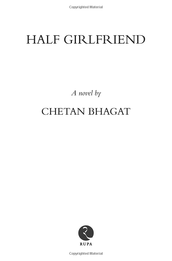 Half Girlfriend by Chetan Bhagat - Home - Facebook