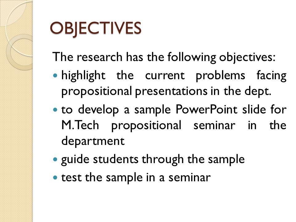 Dissertation proposal slides