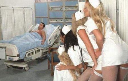 Смотреть порно групповуха в больнице