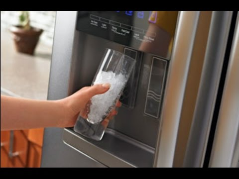 Hook up ice maker fridge
