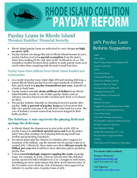 Providence payday loans