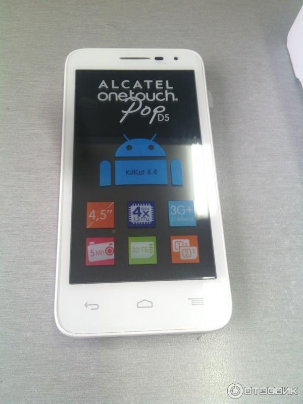 Gebruiksaanwijzing alcatel one touch pop d5