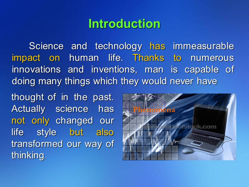 Write my essay about science technology and innovation