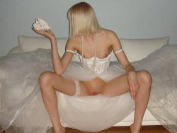 Blonde hottie pees outdoors 1 5