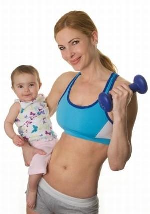 Почему трудно сбросить вес после родов