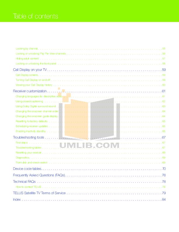 B&q user manuals