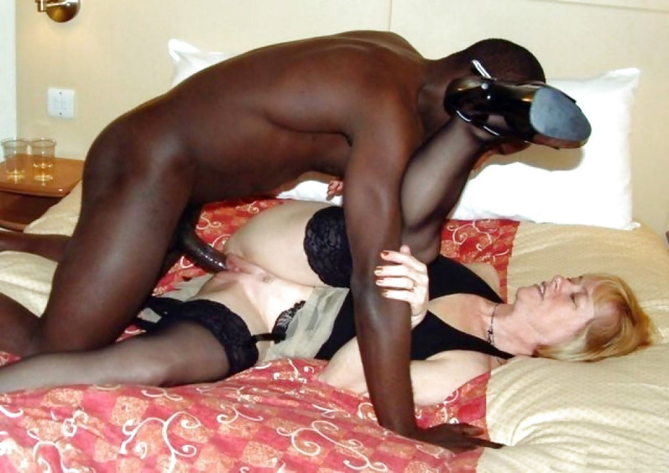 Xrated interracial video #5