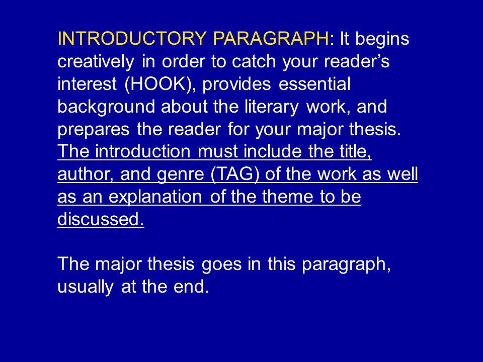 Literary Response Essay - verbmonkeyscom